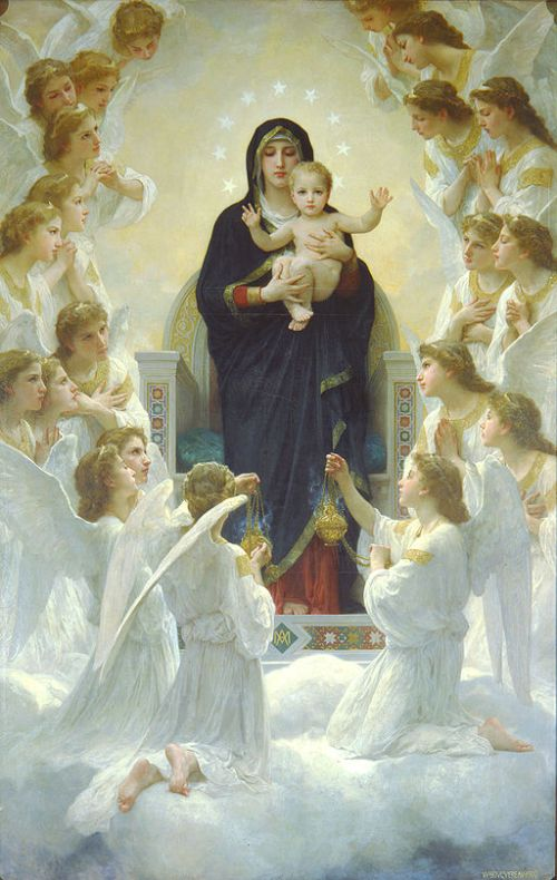 512px-Bouguereau_The_Virgin_With_Angels